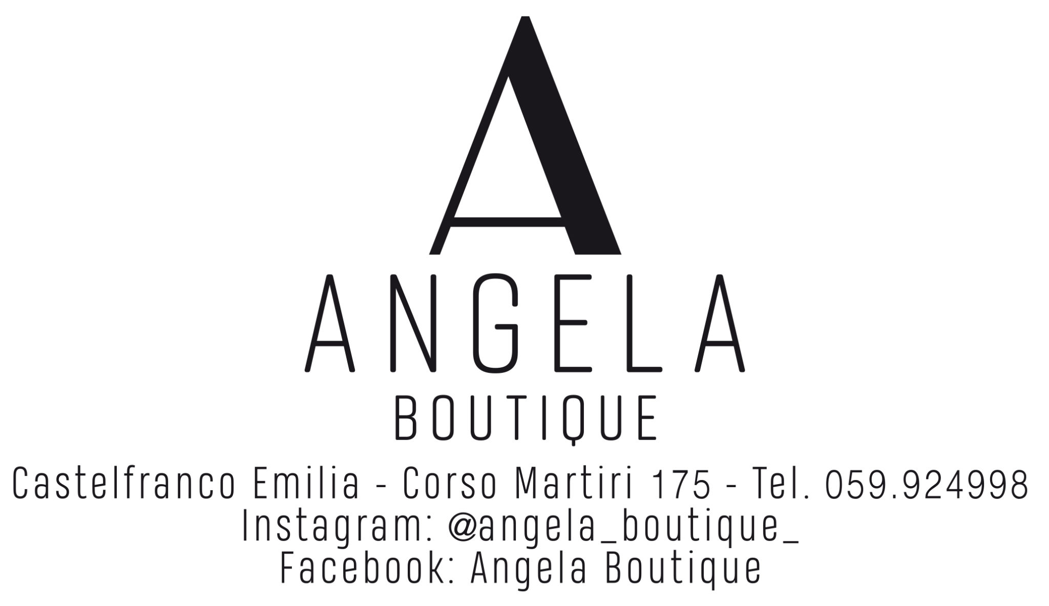 Logo Angela boutique