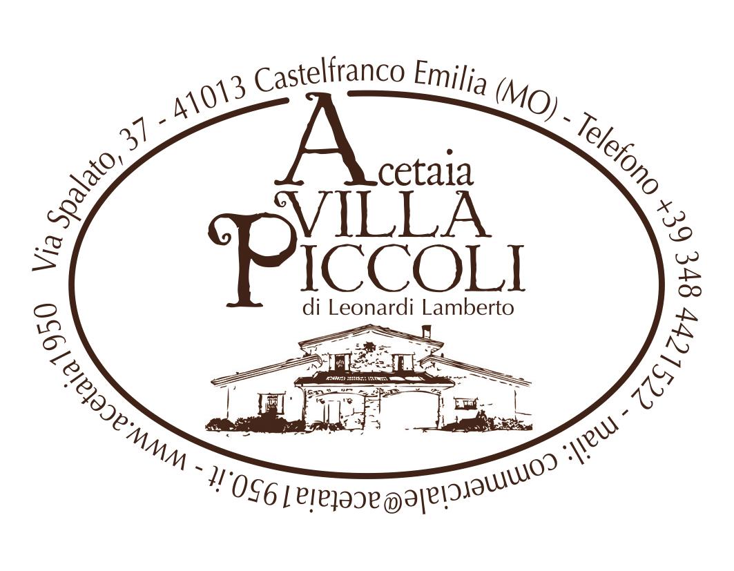 Logo acetaia villa piccoli ok