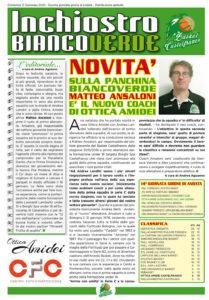 Giornalino 7 Copertina inchiostro biancoverde